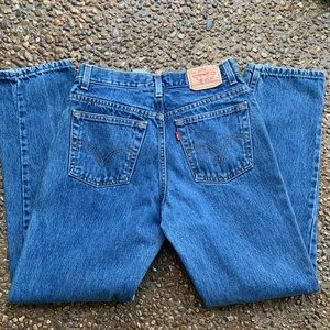 90s Levi's 550s high waisted jeans